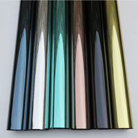 1.52x10m Wholesale Silver Heat Reduction Window Film Solar Tint Reflective One way Mirror sun block Glass Sticker 60''x33ft