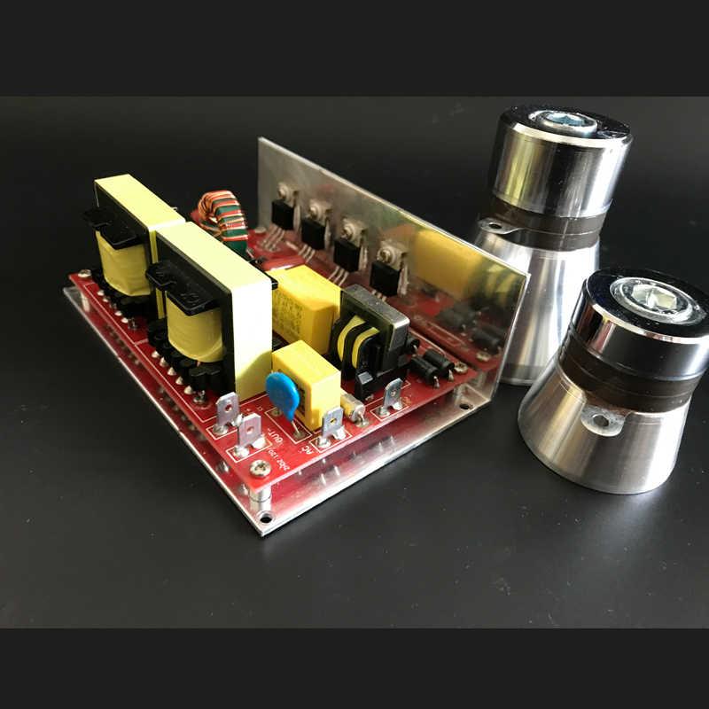 120 вт ультразвуковой небольшой PCB 220 В 40 кГц может управлять двумя 40 кГц пьезокерамический ультразвуковой чистящий преобразователь