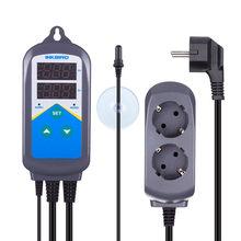 Inkbird-contrôleur de température, Thermostat, sonde d'aquarium, minuterie à double étage, pré-filaire, ue US AU UK ITC-306T
