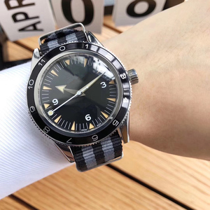 Image 5 - 20mm High Quality Nylon Canves Watch Strap Customized Style For Omega 007 Seamaster 300 Speedmaster 8900 Planet Ocean De Ville