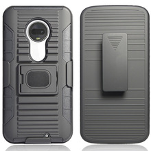 Case For Motorola Moto G7 / G7 Plus XT1965 XT1962 Heavy Duty Rugged Case With Magnetic Ring Stand Belt Clip Swivel Holster Cover waterproof rugged mobile device protection holster case with clip
