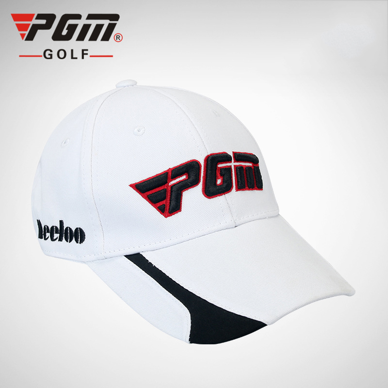 PGM Professional Golf Cap For Men Adjustable Solid Cotton Sunscreen Sports Cap Breathable Men Outdoor Sports Cap Golf Clothing ...