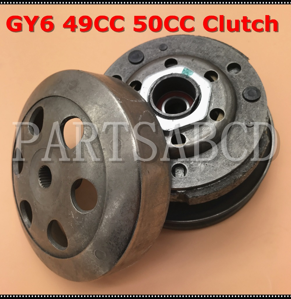 driven clutch pulley assembly cvt gy6 49cc 50cc moped scooter atv 139qmb clutch assy in atv parts accessories from automobiles motorcycles on  [ 1000 x 1030 Pixel ]