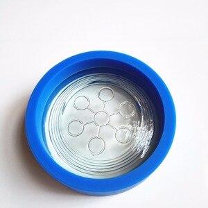 Image 1 - バイオ DISC2 シリコーン保護リングスカラーエネルギーディスク水量子 2500 マイナスイオンバイオ DISC2 新しいパッキング