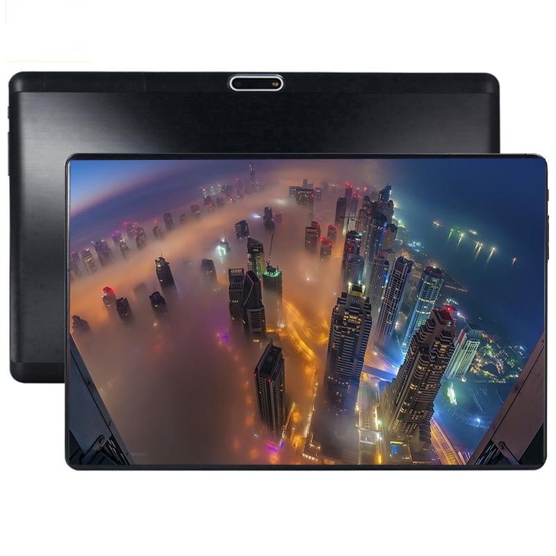 2.5D di Vetro Dello Schermo di Tablet da 10.1 pollici Android 9.0 Octa Core 6 GB di RAM 64 GB ROM 3G 4G LTE 1280*800 IPS 5.0MP Dual SIM Carta di tablet2.5D di Vetro Dello Schermo di Tablet da 10.1 pollici Android 9.0 Octa Core 6 GB di RAM 64 GB ROM 3G 4G LTE 1280*800 IPS 5.0MP Dual SIM Carta di tablet
