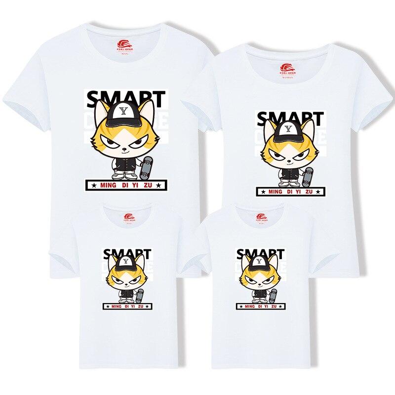 Rodzina Dopasowanie T Shirt dla Mamy Ojciec Big Brother Little Sister - Ubrania dziecięce - Zdjęcie 2