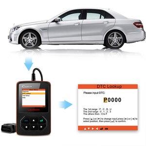 Image 5 - Lancio X431 Creader V + OBD OBD2 lettore codice errore Scanner automobilistico con Scanner automatico strumento diagnostico Auto ODB2 multilingue