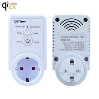 EU Standard Smart Plug GSM Socket Switch SMS Commands Remote Control Switch Outlet Support SIM Card