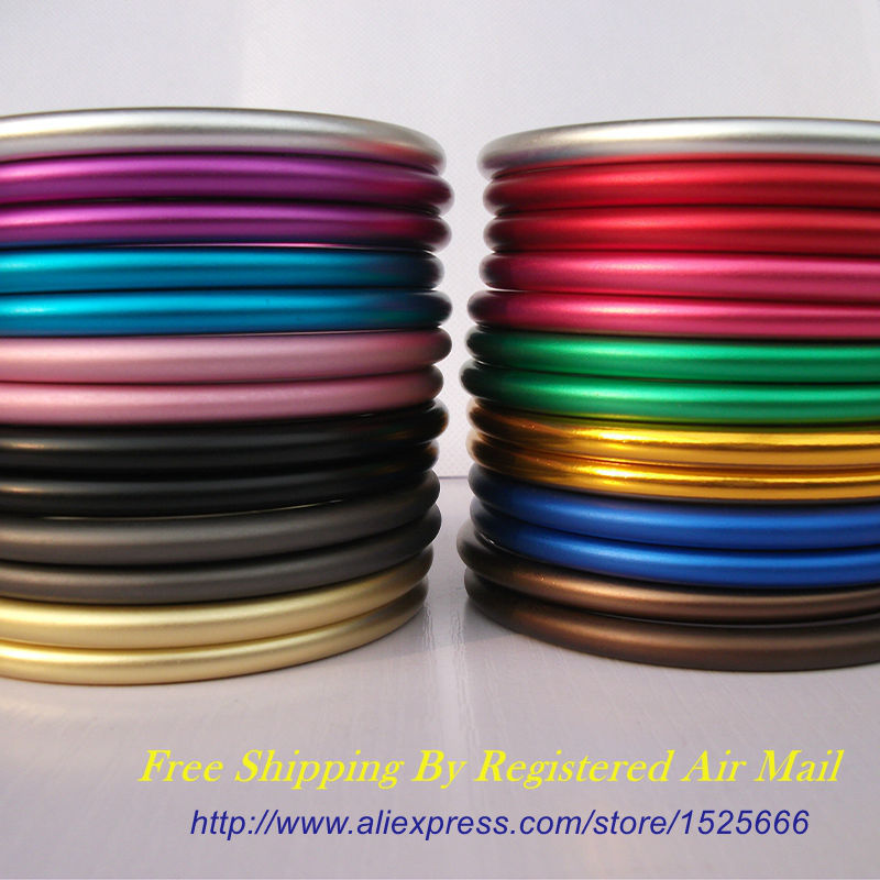 Free Shipping 20pcs 10pairs Large 3 Colored Aluminium Sling Rings Stock DIY Baby Wraps and Slings