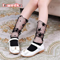 2017 New Kid Girls Socks Cotton with Voile Children Socks Fashion Princess Style