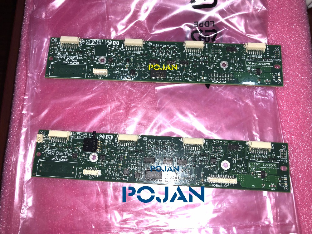 (1SET 2PCS) ISS PCA  CQ109-67025 CQ105 CQ111-60023 For Designjet Z6200 T7100 D5800 PS INK TUBES SYSTEM PCA ISS CARD Original NEW ipc floor pca 6114p10 rev b1 100% test