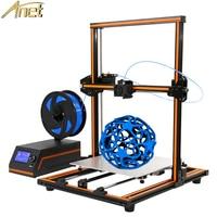 Anet E12 Easy Assemble 3D Printer Large Print Size 300* 300* 400mm Aluminum Structure LCD Screen Imprimante Impresora 3D Drucker