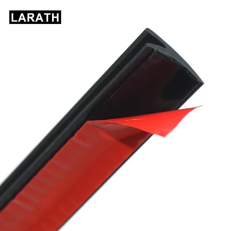 LARATH Car Window Sticker 2 Meter V Type weatherstrip Sealed Strips Trim Seal For Car Window weatherstrip Glass Car Accessories meyle rear window weatherstrip