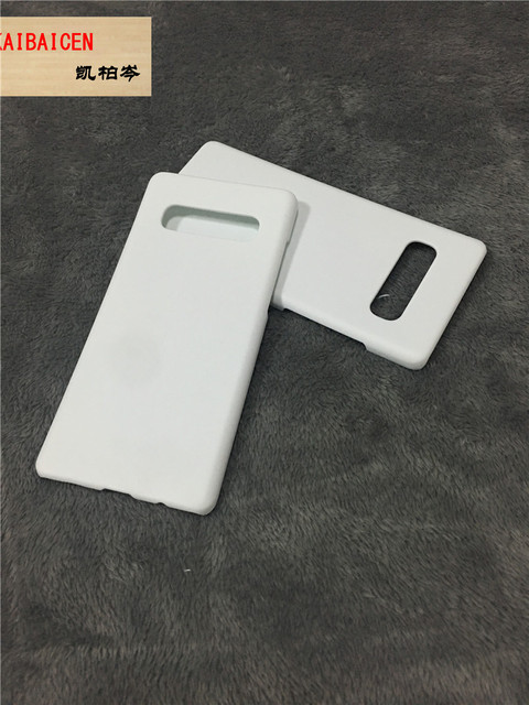 0909b56a3 DHL Freeshipping For Samsung S10 S10 Plus S10 Lite 3D Sublimation Cell  Phone Cover Case