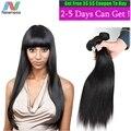 "Newness 7A Unprocessed Virgin Hair Malaysian Straight Hair 4 Bundles/Lot 6A Virgin Human Hair Extension ""10-32""Soft Hair Bundles"