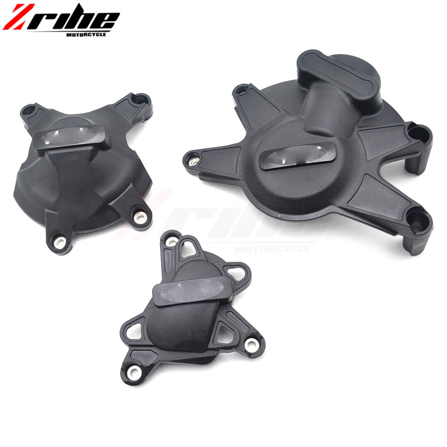 for 1SET 2017 New CNC Aluminum Motorcycle Engine Protective Cover Accessories For Yamaha R1 09-14 2009 2010 2011 2012 motorcycle accessories cnc derby timing timer cover for harley sportster xl883 xl1200 2004 2005 06 07 08 09 2010 2011 2014 black