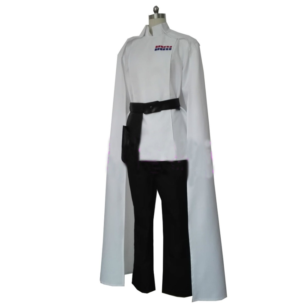 2018 Star Wars Rogue One Director Orson Krennic Cosplay Costume Men