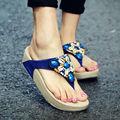 Летние сандалии женщин 2017 гладиатор сандалии женская обувь Богема плоские туфли sandalias mujer женская обувь новые шлепанцы E001W