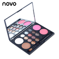 Eye Shadow Professional Makeup Face Palette 12 Colors Shimmer Eyeshadow+Blusher+Highlighter Grooming Pressed Powder Make Up Set