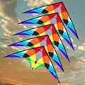 Envío de la alta calidad 1.8 m flying bird doble línea cometa del truco surf 5 series albatross kite cometa con la línea de mango juguetes al aire libre