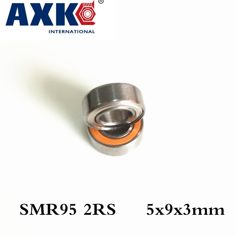 Axk 1piece Smr95 2rs Cb A7 5x9x3mm Hybrid Ceramic Si3n4 Balls+ Stainless Steel Rings Bearing ceramic 4 piece stacking