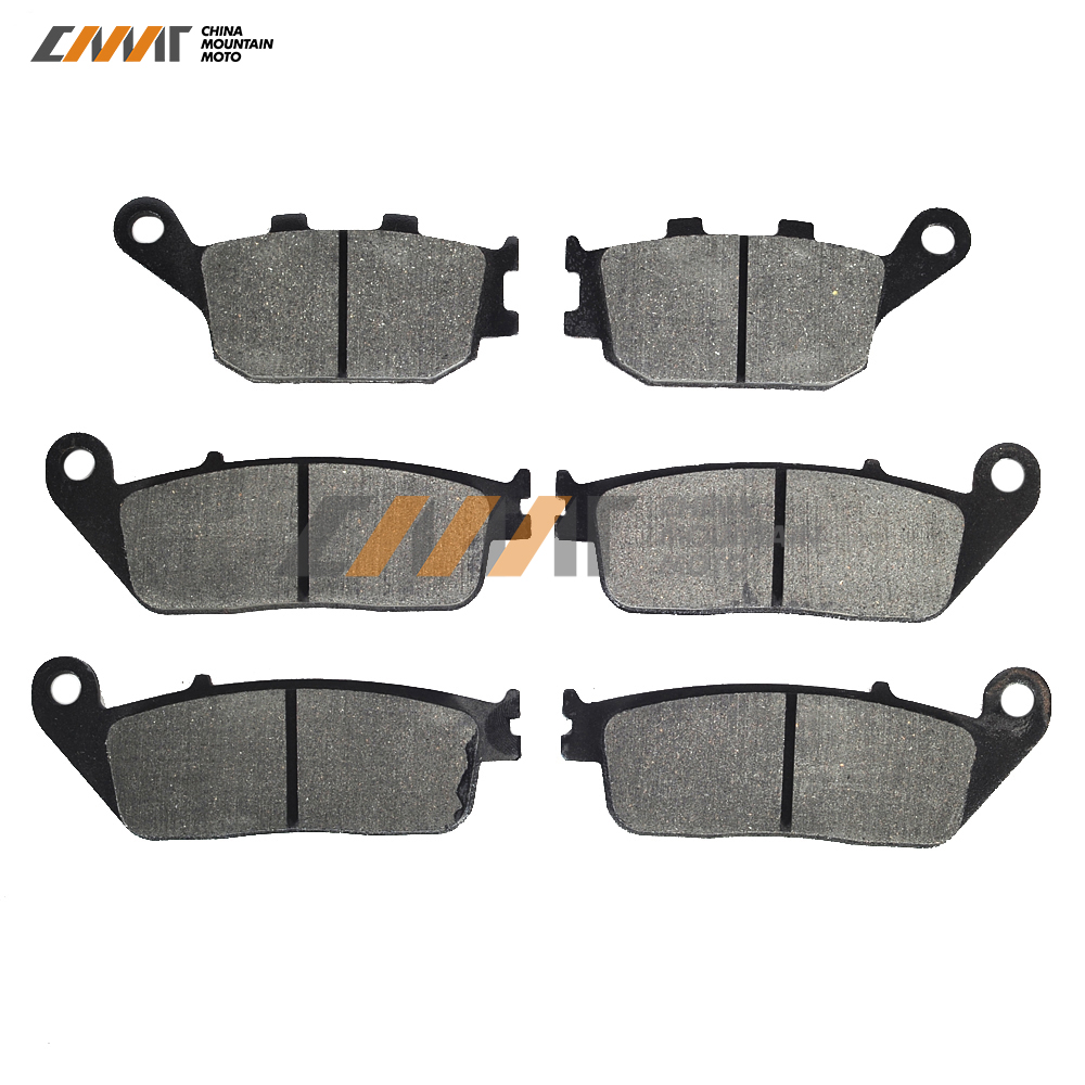 Semi-Metallic Front Rear <font><b>Disc</b></font> <font><b>Brake</b></font> Pad case for <font><b>KAWASAKI</b></font> <font><b>Z750</b></font> 750S <font><b>Z750</b></font> Z750S 2007- High Quality image