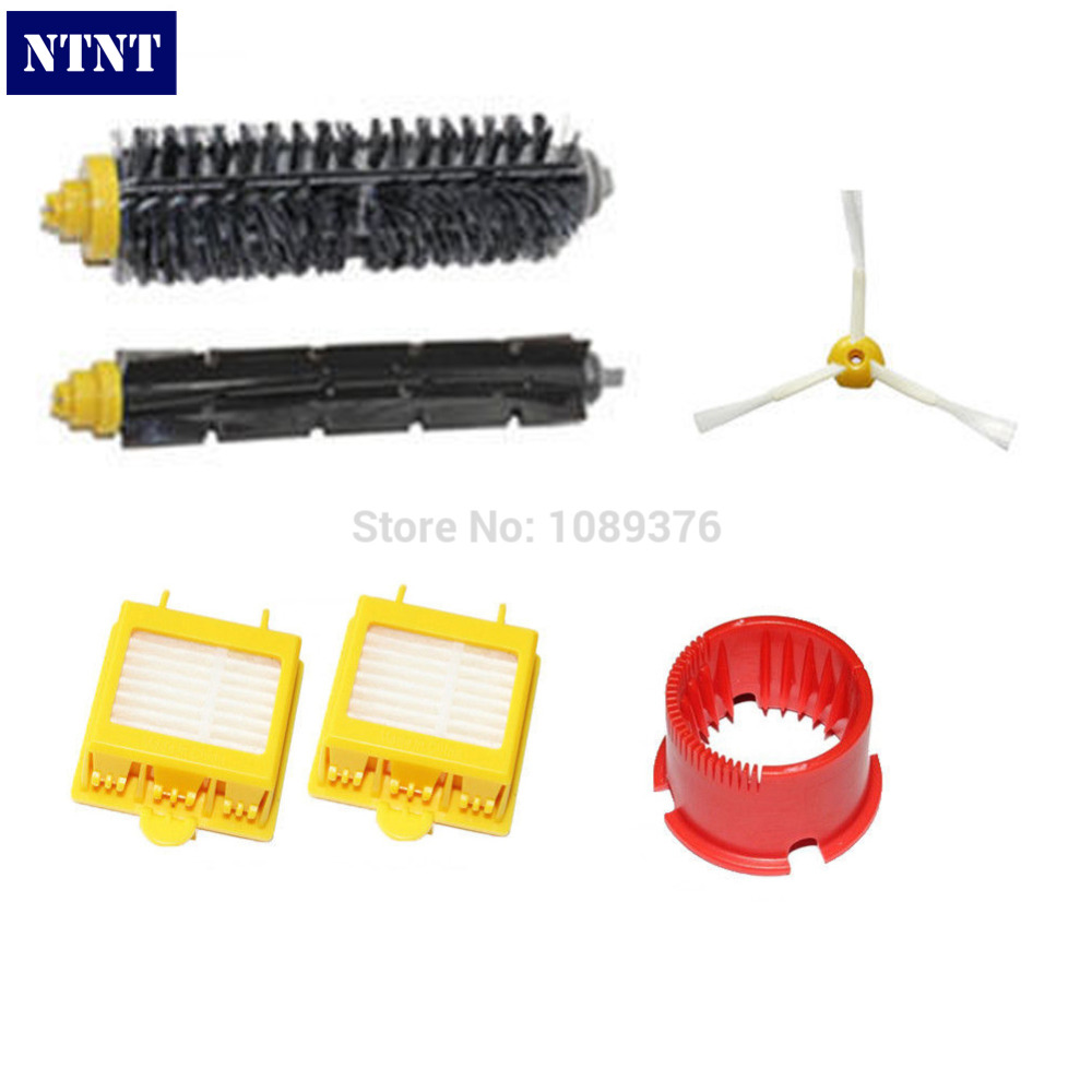 NTNT Free Post New Brush Cleaning Tool Filter Kit 3 Armed for iRobot Roomba 700 Series 760 770 780 vacuum cleaning kit attachement kit dusting dusting brush nozzle crevices tool upholster tool for 32mm