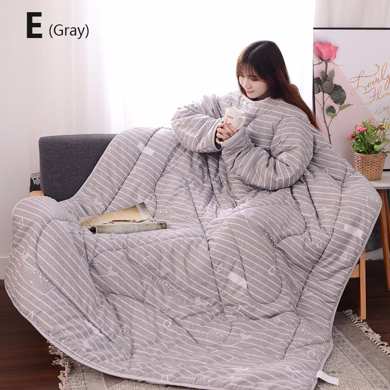Winter Lazy Quilt With Sleeves - 30% OFF 2