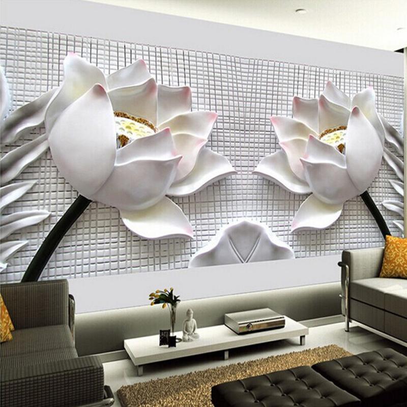 Online Shop Custom Any Size 3D Wall Mural Wallpaper New Modern   3d Wall  Mural