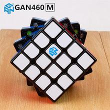 GAN460 M 4X4X4 Magnetische Puzzel Magische Kubus Gan 460 Professionele 4 Layer Magneten Speed Cubes Gans speelgoed Voor Kinderen