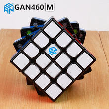 GAN460 M 4x4x4 Magnetic puzzle Magic Cube GAN 460 Professional 4 Layer Magnets Speed Cubo Magico GANS Toys For Children(China)