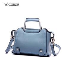 YOGOBOR Brand small women handbag for women bags leather tote handbags women's pouch bolsas shoulder bag female messenger bags
