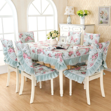 110 - 180cm x 150 - 200cm Table Cloth Chair Dressing Square Rectangle Round Lace Tablecloth Green 180x180cm 150x200cm 130x180cm
