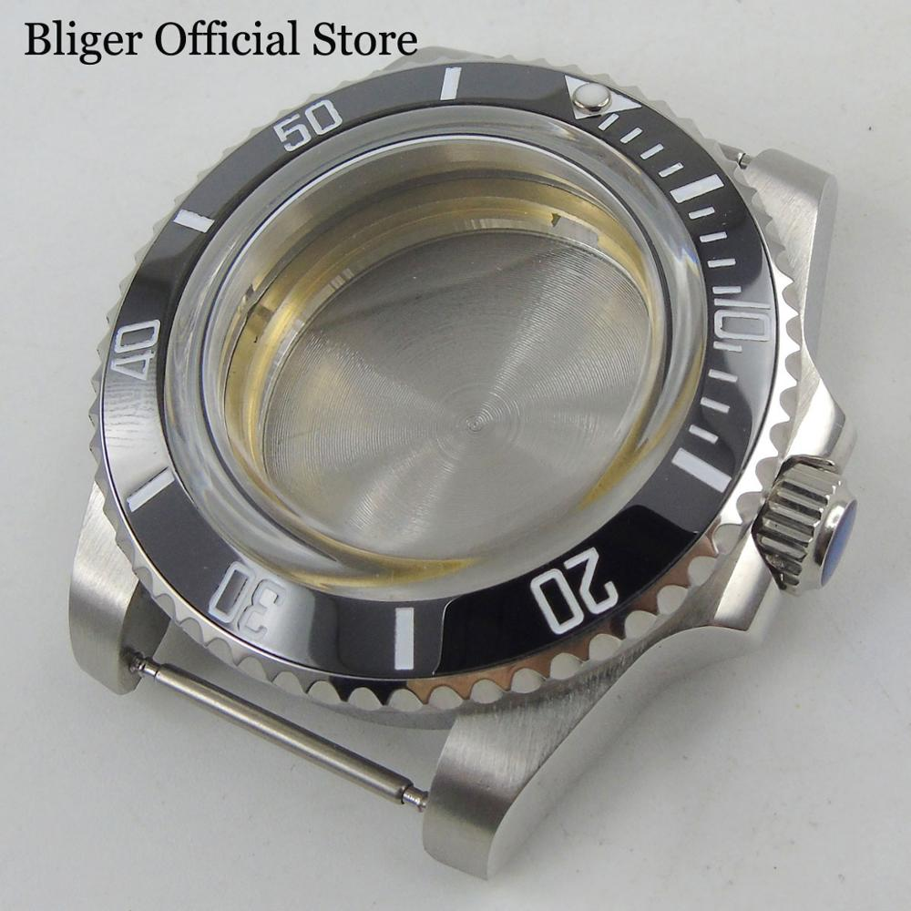Watch Parts 40mm Stainless Steel Watch Case  Fits for ETA 2836 Miyota Movement Automatic Mens WatchWatch Parts 40mm Stainless Steel Watch Case  Fits for ETA 2836 Miyota Movement Automatic Mens Watch