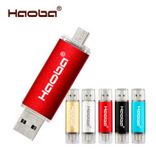 Colorido USB OTG USB memoria Flash 16 GB 32 GB Pendrive 4 GB 6 GB 64 GB U disco USB unidad Flash para ordenador/teléfono Android(China)