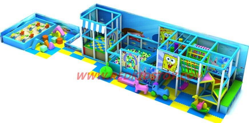 2014 équipement de terrain de jeu personnalisé/enfants château vilain/enfants jeu de jeu doux Direct usine Top qualité