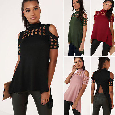 Women shirt Fashion Blouse Summer Casual Loose Short Sleeve Blouse Tops Casual femme blause