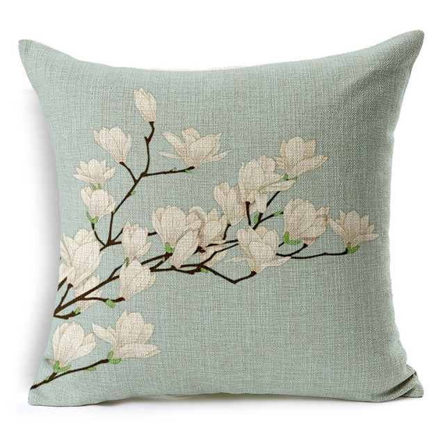Cheap Price Home Decorative Pillow Case Plant Flower Cushion Cover Magnificent Decorative Pillows Cheap Prices