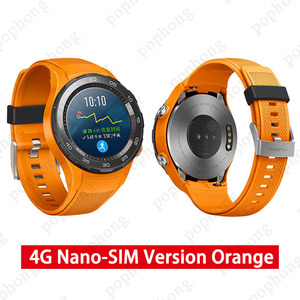 Image 2 - Original Global Rom Huawei Watch 2 Smart Watch Support bluetooth LTE4G HeartRate Tracker For Android iOS IP68 waterproof NFC GPS