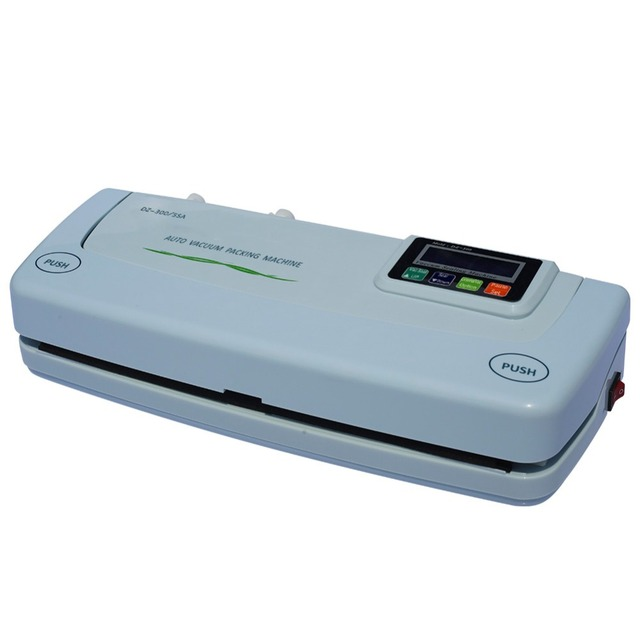 Full automatic small household vacuum sealing machine, food vacuum packing machine 110v-220v