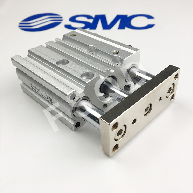 MGPM16-250Z SMC compact guide cylinder Thin Three-axis cylinder with rod cylinder MGPM seriesMGPM16-250Z SMC compact guide cylinder Thin Three-axis cylinder with rod cylinder MGPM series