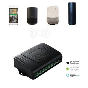 Image 2 - Ktnnkg Nhà Thông Minh 4CH Wifi Điều Khiển Từ Xa Đa Năng Nhà Để Xe Cửa Thu Với Ev1527 RF 433 Mhz Điều Khiển Từ Xa DC 7 36V