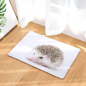Image 4 - CAMMITEVER Lovely Small Animal Hedgehog Carpet Alfombra Chair mat Seat Pad  Area Rugs Washable Bedroom Kids Room Decoration