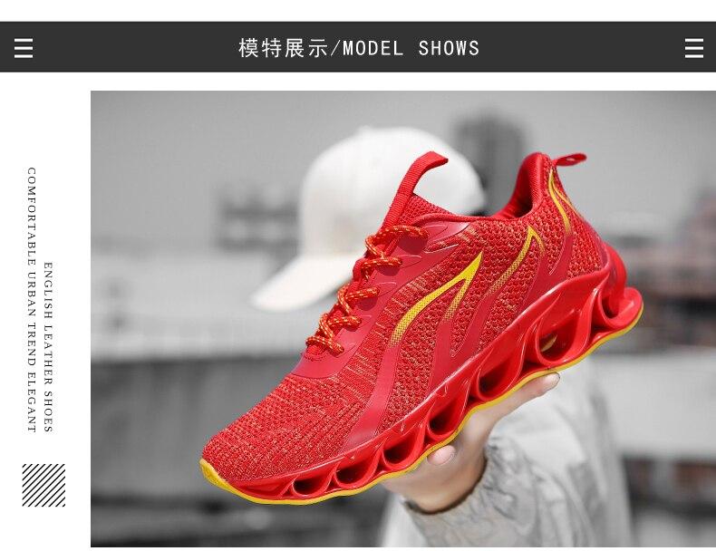 respirável zapatillas hombre tênis de desporto ao