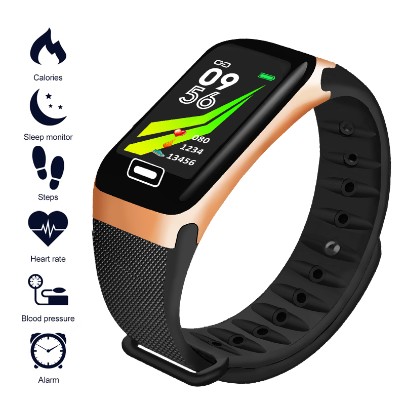 LIGE 2019 New Waterproof Smart bracelet Men women Heart rate Sleep monitor Pedometer Fitness tracker Sport mode Smart wristband