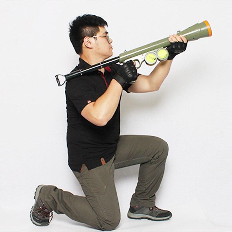 Теннис Launcher собака игрушка смешная собака игрушечный пистолет Training морда катапульта стимул инструмент открытый Игрушечные лошадки лакомс...