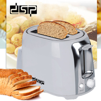 DSP Toasters 2 Slice Bread Toast Machine Household Breakfast Quick Baking 220 240V 750W Bread Maker toaster