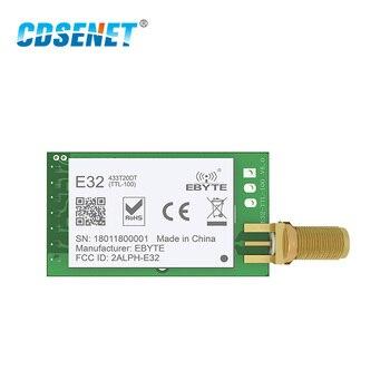 SX1278 LoRa 433 МГц 20dBm SMA-K Разъем беспроводной приемопередатчик E32-433T20DT UART 100 мВт дальние расстояния IoT RF передатчик приемник