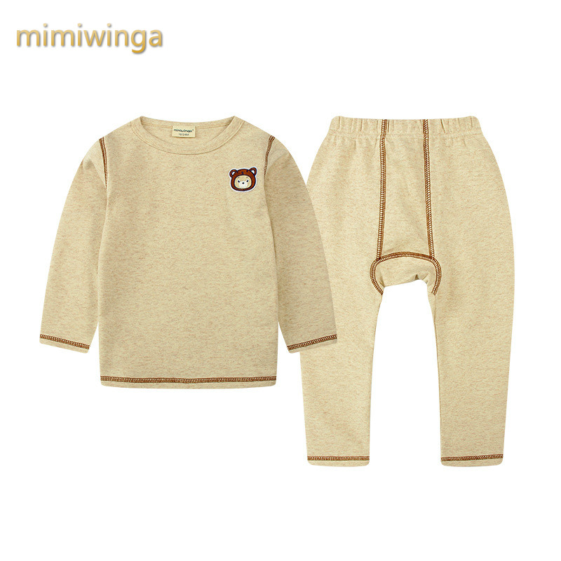 2017 autumn and winter new boy thermal underwear suit cotton home service children s clothing