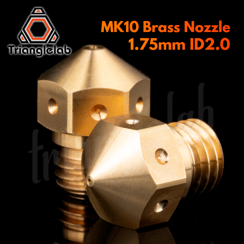 Trianglelab Super High Quality Micro Swiss MK10 Nozzle ID2.0MM For Micro Swiss All Metal Hotend Kit  M7 Thread 3D Printer
